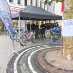 """Der neue Radladen """"Beinarbeit"""" war auch mit einer Auswahl an tollen Rädern vertreten"""