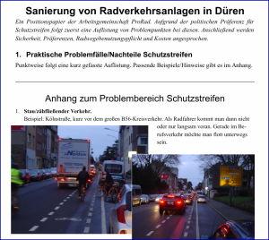 Radwegesanierung